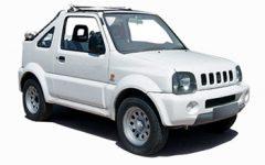 Suzuki Jimny Jeep (4WD Convertible)
